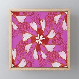 Kaleidoscope of Love Framed Mini Art Print