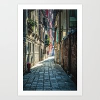 venice Art Prints featuring Venice by Traven Milovich