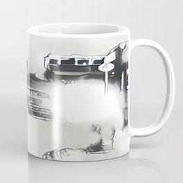 Death Drives Here Coffee Mug