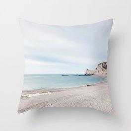 Étretat Throw Pillow