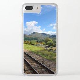 Miniature Railways Clear iPhone Case