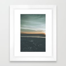 Dilworth Mtn. Lookout Framed Art Print