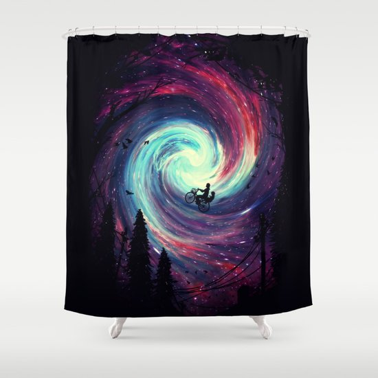 Adventure Awaits Shower Curtain