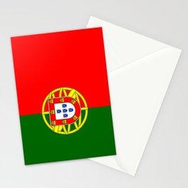 flag of portugal -Portuguese,mirandese,Portugués,lisbon,porto. Stationery Cards