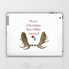 Merry Christmas You Filthy Animal Laptop & iPad Skin