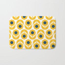 Joy collection- Yellow flowers Bath Mat
