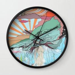 Sink Deeper Wall Clock