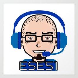 Ese51 Gaming Art Print