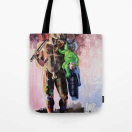 Hermaphrodite with a child Tote Bag