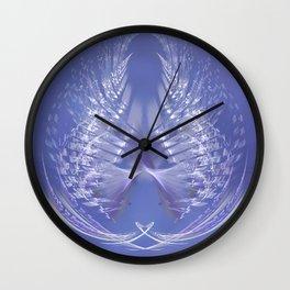 Mercury in Libra Cardinal Air - #Abstract #Art #Illustration by Menega Sabidussi #society6 Wall Clock