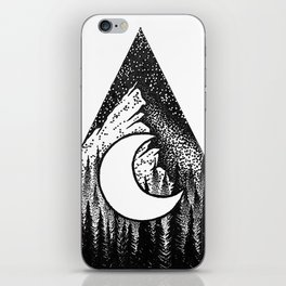 Deep Forest iPhone Skin