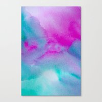 aurora Canvas Prints featuring Aurora by elena + stephann