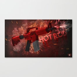 Machine Gun 4 Canvas Print