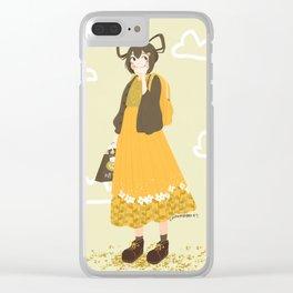 Daydreaming Tsuyu Clear iPhone Case