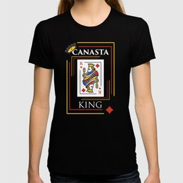 Canasta design Gift for Card Game Players and Teams for competitions and tournaments T-shirt