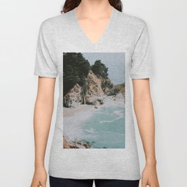 big sur / california Unisex V-Neck