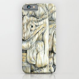 Haida Totems iPhone Case