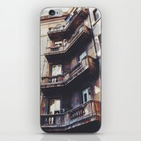 roman iPhone & iPod Skins featuring Roman Balconies by Forgotten Charm