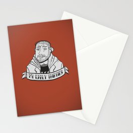My early thirties. Stationery Cards