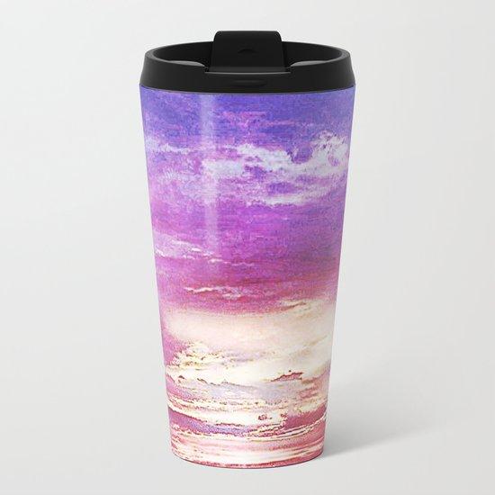Sunset skies Metal Travel Mug