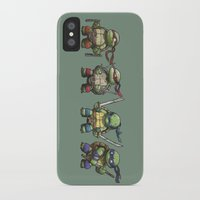 tmnt iPhone & iPod Cases featuring TMNT by jeremiah cortez