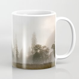 Yosemite Valley in Fog Coffee Mug