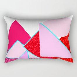 Hello Mountains - Flowering Slopes Rectangular Pillow