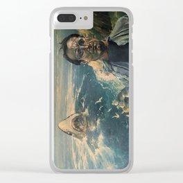 The Moment of Realization Clear iPhone Case