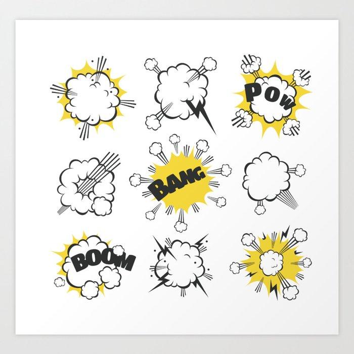 BoomBangPow Kunstdrucke