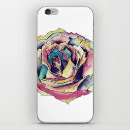 Watercolor Rose iPhone Skin