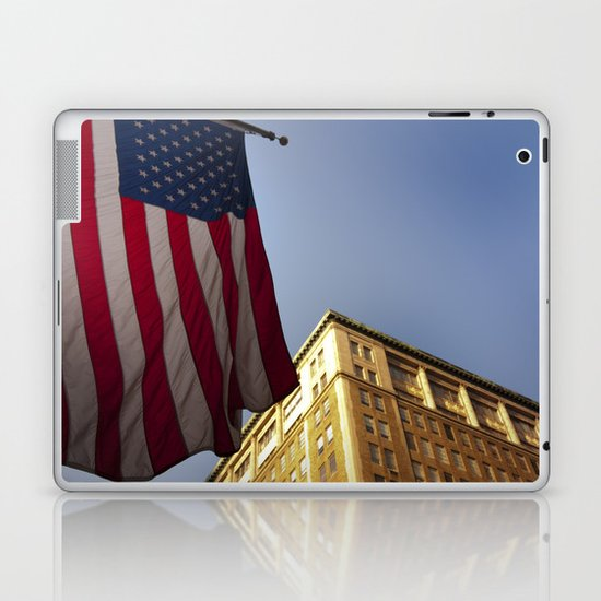 Cornice with flag Laptop & iPad Skin
