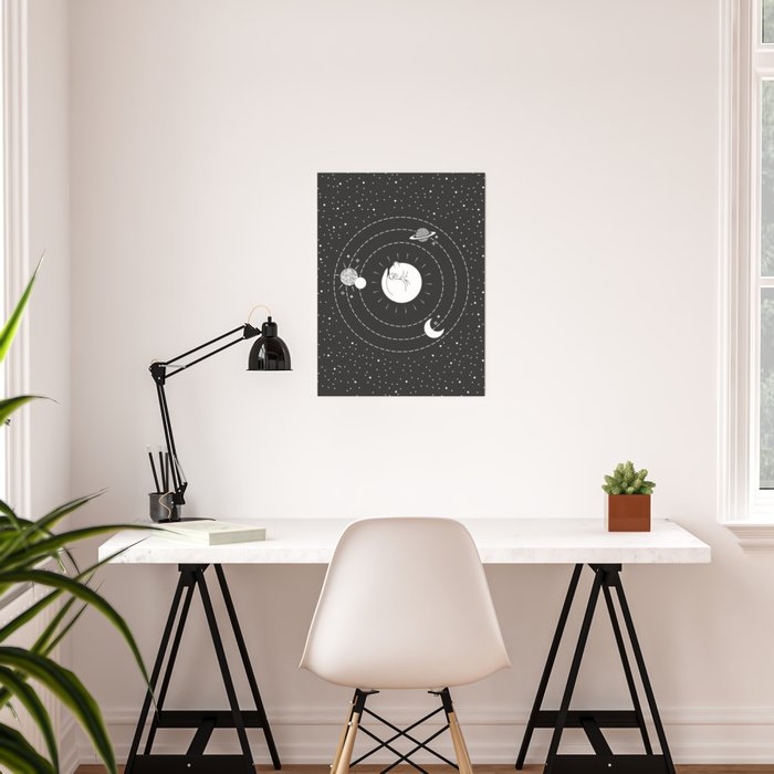 The Space Cat Poster