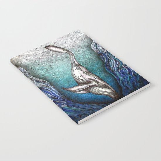 Into the Darkest Depths Notebook