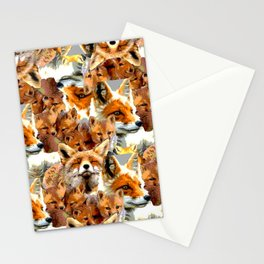 Feelin' Foxy Stationery Cards