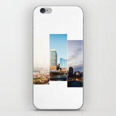 A day in Boston iPhone & iPod Skin