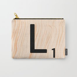 Scrabble Letter L - Large Scrabble Tiles Carry-All Pouch