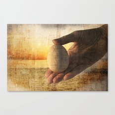 In the beginning Canvas Print