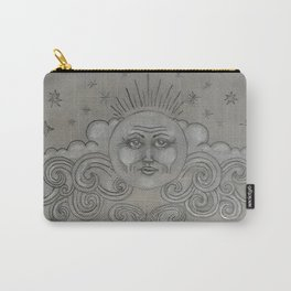 Silver Moon Carry-All Pouch