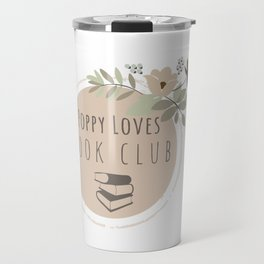 Poppy Loves Book Club Travel Mug