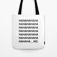 HAHA Tote Bag