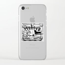 asc 572 - Weapons of class distraction Clear iPhone Case