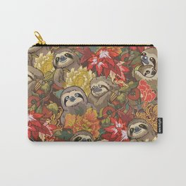 Because Sloths Autumn Carry-All Pouch