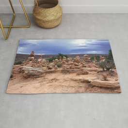 Rock Stacking Rug