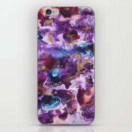 """Spilled Cabernet"" iPhone Skin"
