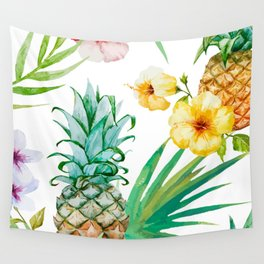 Pines & palms Wall Tapestry