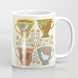 Floral Animal Teacups Coffee Mug