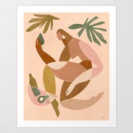 Avocado toast is all I really want Art Print