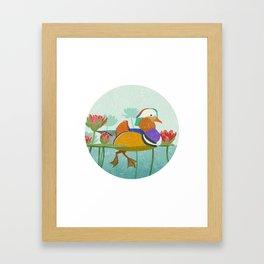 Mandarin Duck Framed Art Print