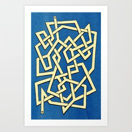 Maze 81 Art Print