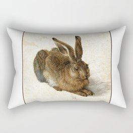 Albrecht Durer - Hare Rectangular Pillow